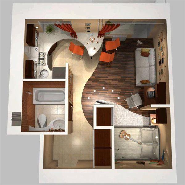 перепланування однокімнатної квартири 30 кв м хрущовка фото