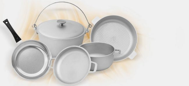 Алюмінієвий посуд: користь і шкода