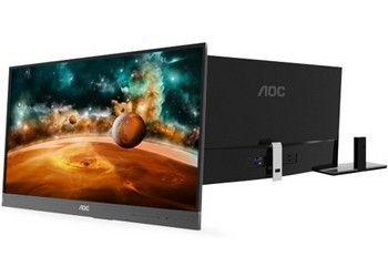 AOC представила 27-дюймовий монітор i2757fh з ультратонкої рамкою