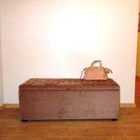 банкетка з ящиком для взуття в передпокій 14