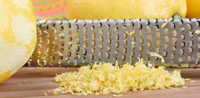 Цедра лимона: користь і шкода