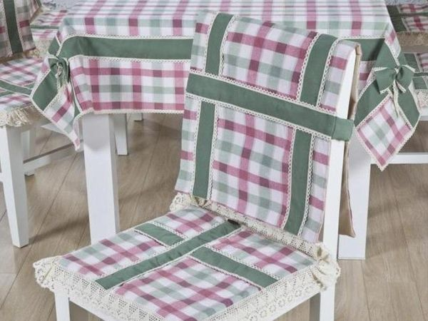 чохли на кухонні стільці зі спинкою фото 8