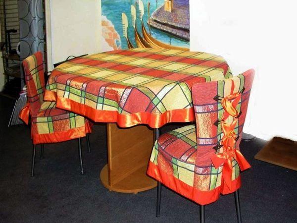 чохли на кухонні стільці зі спинкою фото 11