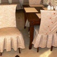 чохли для стільців на кухню фото 12