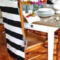 чохли для стільців на кухню фото 18