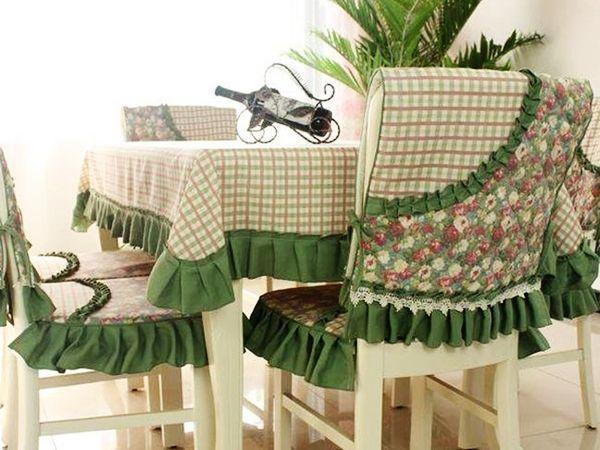 чохли на кухонні стільці зі спинкою фото 3
