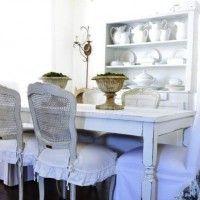 чохли для стільців на кухню фото 31
