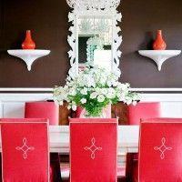 чохли для стільців на кухню фото 32