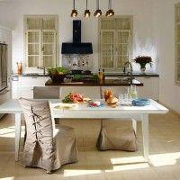чохли для стільців на кухню фото 21