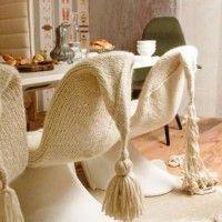 чохли для стільців на кухню фото 28