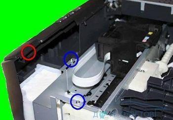 Щоб почистити памперс зовсім не обов`язково розбирати принтер