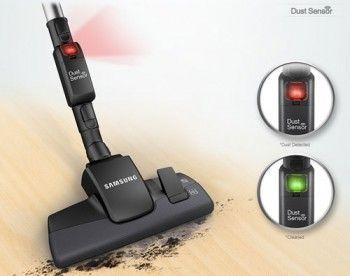 Датчик пилу dust sensor автоматично вкаже забруднені і очищені ділянки