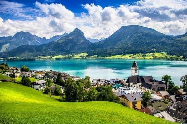 Село санкт-вольфганг, австрія