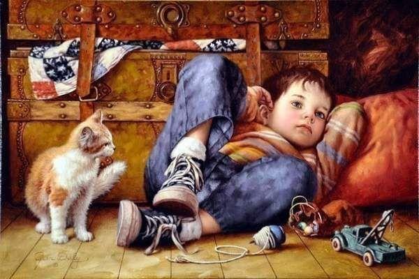 Дитинство від художника jim daly