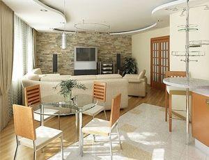 Дизайн інтер`єру квартири-студії з фото і відео-прикладами