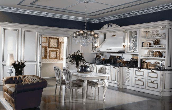 Дизайн кухні в класичному стилі (17 фото): красиві проекти