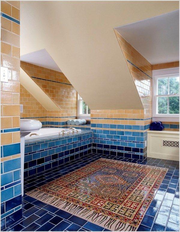 мозаїка у ванній фото