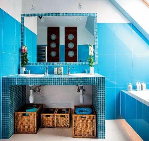 мозаїка у ванній кімнаті фото