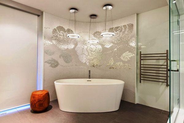 дизайн ванної кімнати з мозаїкою фото