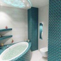 мозаїка у ванній дизайн фото 32