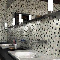 мозаїка у ванній дизайн фото 43