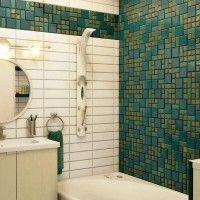 мозаїка у ванній дизайн фото 37