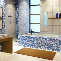 мозаїка у ванній дизайн фото 35