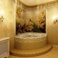 мозаїка у ванній дизайн фото