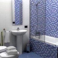 мозаїка у ванній дизайн фото 39
