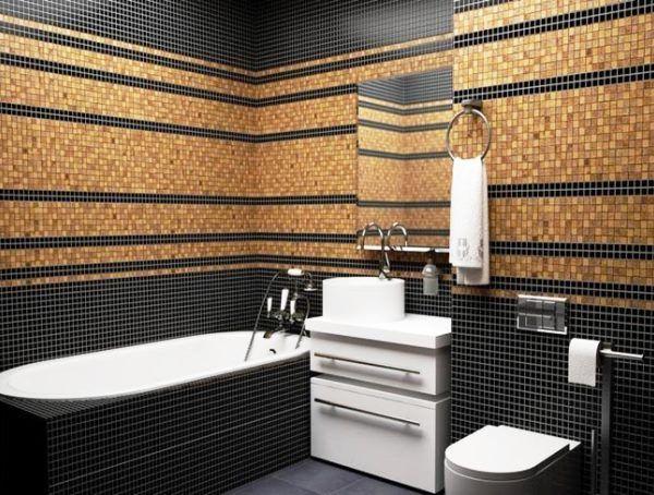 мозаїка в інтер`єрі ванної кімнати фото 3