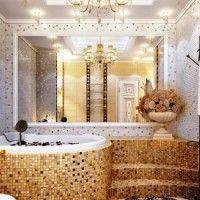мозаїка у ванній дизайн фото 30
