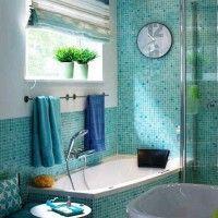 мозаїка у ванній дизайн фото 42