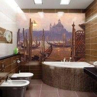 мозаїка у ванній дизайн фото 50