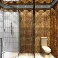 мозаїка у ванній дизайн фото 40