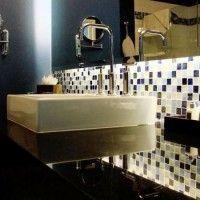 мозаїка у ванній дизайн фото 45