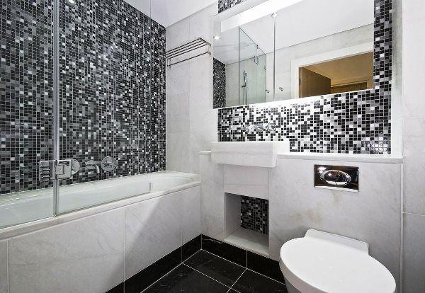 мозаїка в інтер`єрі ванної кімнати фото 4