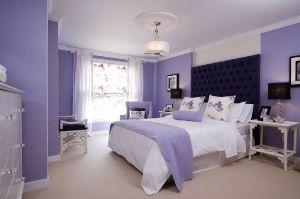 Дизайн спальні в бузкових тонах: специфіка, секрети, варіанти (+ 62 фото)