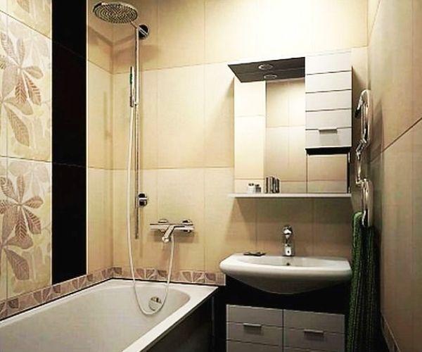 ванна в бежевому кольорі фото 7