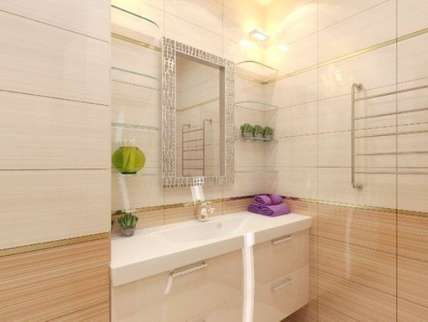 ванна в бежевому кольорі фото 4