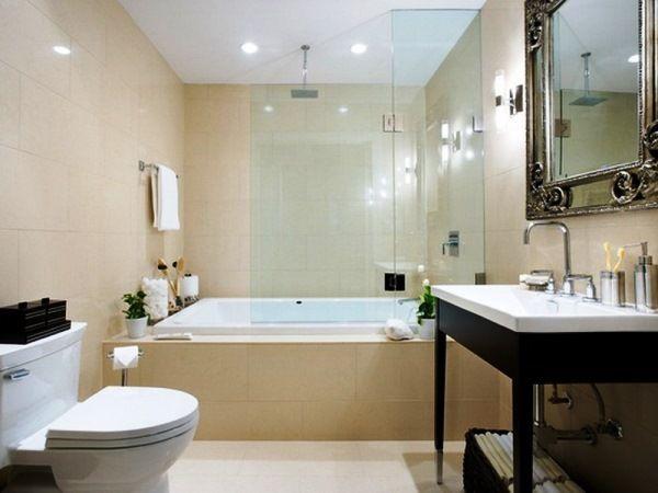 ванна в бежевому кольорі фото 5