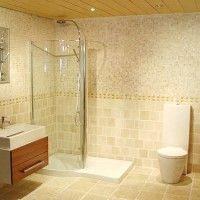 ванна в бежевих тонах фото 7