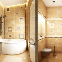 ванна в бежевих тонах фото 32