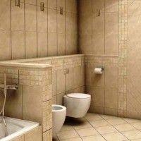 ванна в бежевих тонах фото 26