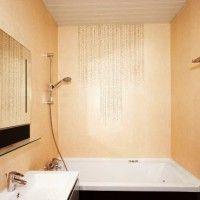 ванна в бежевих тонах фото 12