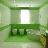 зелена ванна кімната фото 41