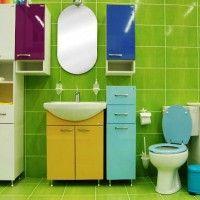 зелена ванна кімната фото 39