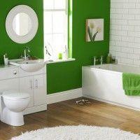 зелена ванна кімната фото 40