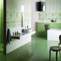 зелена ванна кімната фото 28