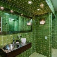 зелена ванна кімната фото 53