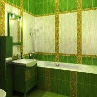 зелена ванна кімната фото 20